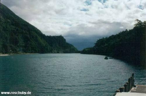 Lago todo los Santos