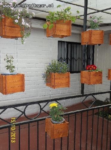 Jardin & Hogar ~ Decoración para Jardín & Hogar en Madera